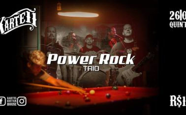 Power Rock Trio no Kartell