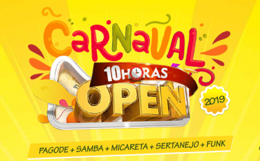 CARNAVAL 10 HORAS OPEN BAR NO ARIZONA