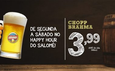 Happy Hour no Salomé Bar