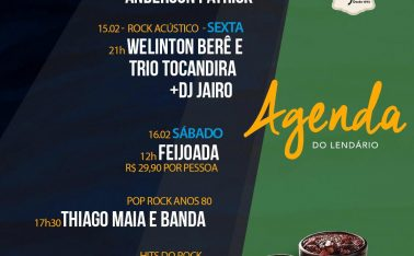 MÚSICA AO VIVO E FEIJOADA NO BAR DO EDGARE
