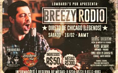 SHOW DE BLUES BREEZY RODIO
