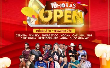 10 HORAS OPEN BAR NO ARIZONA BAR