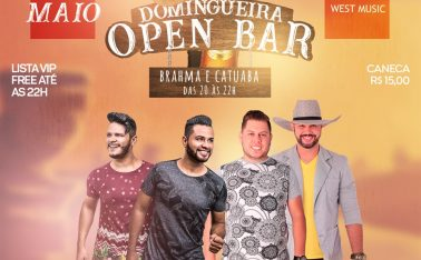 DOMINGUEIRA OPEN BAR NO GERONIMO