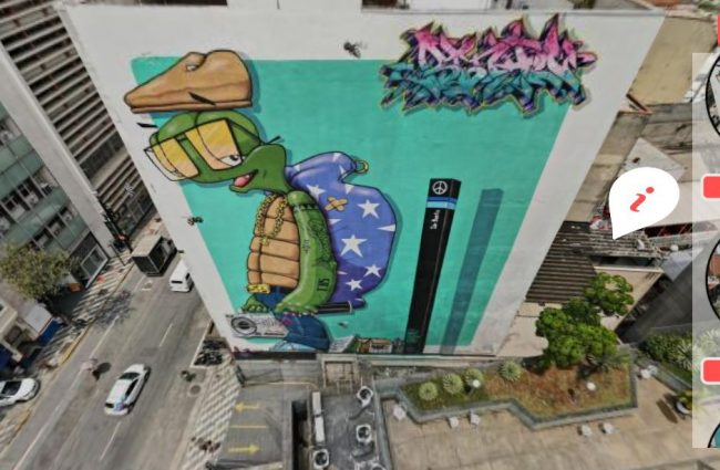Tour virtual graffitis de SP - fonte: mar360